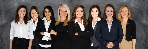 Commercieel team op het werk Stock Foto