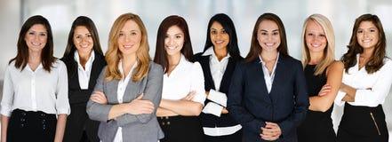Commercieel team op het werk Stock Afbeelding