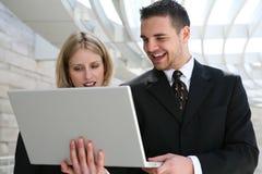 Commercieel Team op Kantoor royalty-vrije stock afbeelding