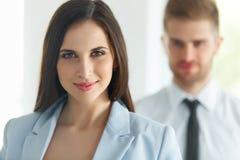 Commercieel team Portret van succesvolle bedrijfsmensen Zaken Stock Fotografie