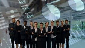 Commercieel team stock videobeelden