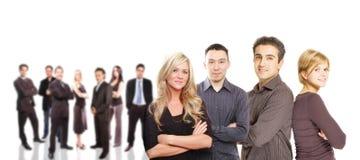 Commercieel teamconcept Royalty-vrije Stock Afbeeldingen