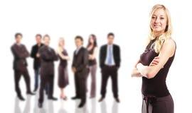 Commercieel teamconcept Stock Afbeelding