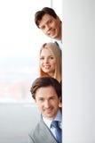 Commercieel teamportret Stock Afbeelding