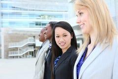 Commercieel van de man en van de Vrouw Team Stock Foto
