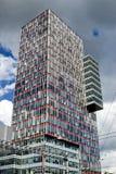 Commercieel van de stad centrum Royalty-vrije Stock Fotografie