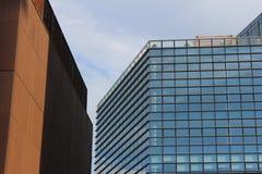 Commercieel van Milaan centrum Stock Foto