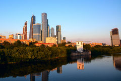 Commercieel van Moskou Internationaal Centrum Royalty-vrije Stock Afbeeldingen