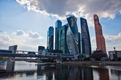 Commercieel van Moskou Internationaal Centrum Royalty-vrije Stock Afbeelding