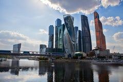 Commercieel van Moskou Internationaal Centrum Stock Afbeelding