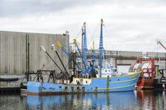 Commercieel vissersvaartuig Santa Barbara Stock Foto's