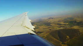 Commercieel vliegtuig stock video