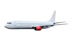 Commercieel vliegtuig royalty-vrije stock afbeelding