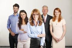 Commerciële groep Stock Foto's