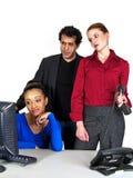 Commerciële teammislukking Stock Fotografie