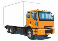 Commerciële vrachtwagen Royalty-vrije Stock Afbeelding