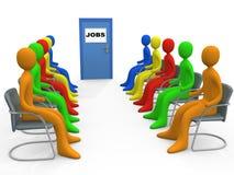 Commercio - applicazione di job Immagine Stock Libera da Diritti