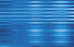 Commercio blu nel movimento Immagini Stock