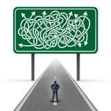 Commercio confuso royalty illustrazione gratis