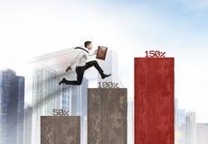 Commercio crescente Fotografia Stock