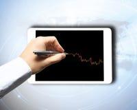 Commercio dei forex Immagine Stock
