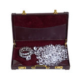 Commercio del diamante Fotografia Stock