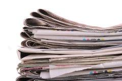 Commercio del giornale delle notizie fotografia stock