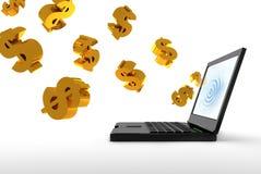 Commercio del Internet Fotografie Stock Libere da Diritti