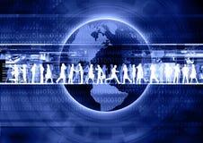 Commercio del Internet Fotografia Stock Libera da Diritti
