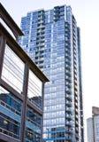 Commercio dell'edificio per uffici Fotografia Stock Libera da Diritti