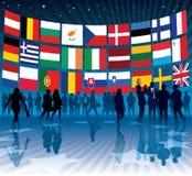 Commercio dell'Ue Immagine Stock