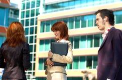 Commercio di conversazione 2 immagini stock libere da diritti