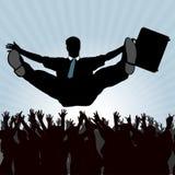 Commercio di Excelent - grande successo Immagini Stock Libere da Diritti