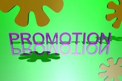 Commercio di marchio, promozione Fotografia Stock