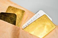 Commercio di metalli preziosi. Fotografia Stock