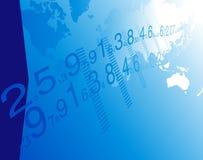 Commercio di mondo della priorità bassa. Fotografia Stock Libera da Diritti
