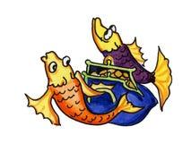 Commercio di pesca Fotografia Stock Libera da Diritti