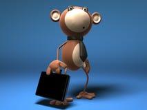 Commercio di scimmia Fotografia Stock