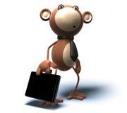 Commercio di scimmia royalty illustrazione gratis