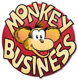 Commercio di scimmia Immagine Stock Libera da Diritti