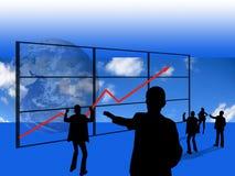 Commercio di successo Immagini Stock