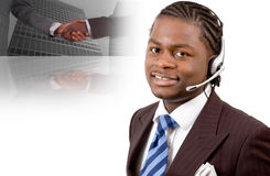 Commercio di telecomunicazione Immagine Stock