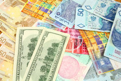 Commercio di valuta Immagine Stock