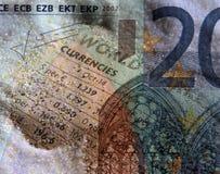 Commercio di valuta Fotografia Stock
