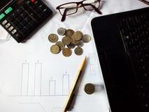 Commercio e finanze Immagini Stock