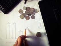 Commercio e finanze Fotografia Stock Libera da Diritti