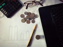 Commercio e finanze Fotografia Stock