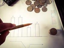 Commercio e finanze Fotografie Stock