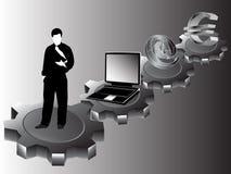 Commercio e lavoro Fotografia Stock
