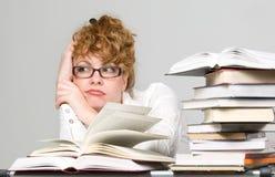 Commercio e studing Immagine Stock